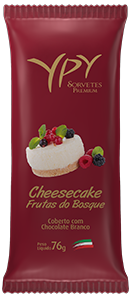 Cheesecake de Frutas do Bosque