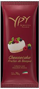 Cheesecake de Frutas do Bosque